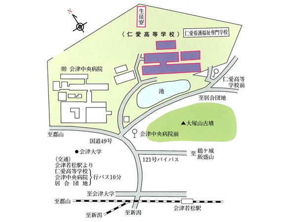 学校案内図
